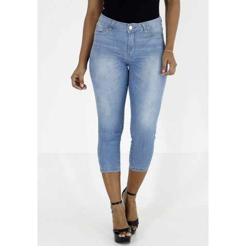 1755911-Calça Capri Magic Size Jeans S