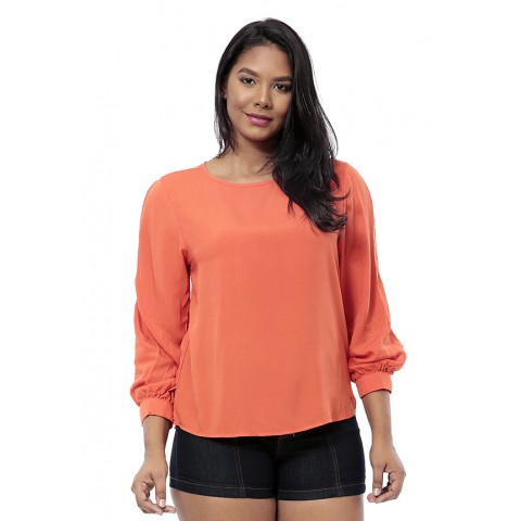 1757124-Blusa Mg Longa Viscose