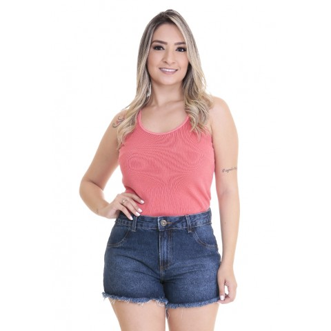 1758399- Short Anti Fit Handara Jeans Escura