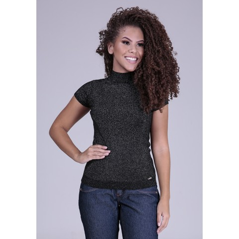 1960886-Blusa Baby Look Tricot