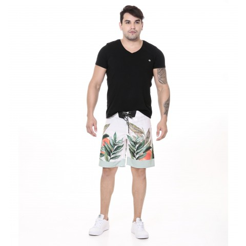 3240003-Boardshort Tactel Estampado