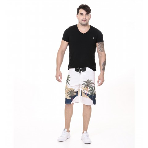 3240004-Boardshort Tactel Estampado